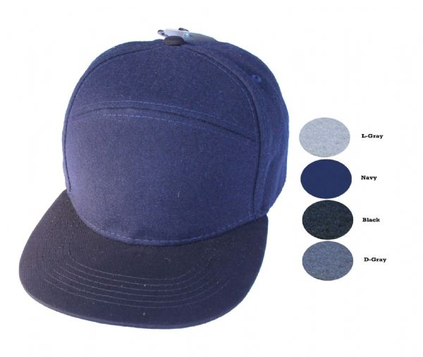 c41-C6642 plain snapback cap assorted colour 6pcs pack